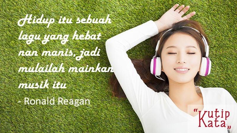 Kata Kata Mutiara Kehidupan - Ronald Reagan