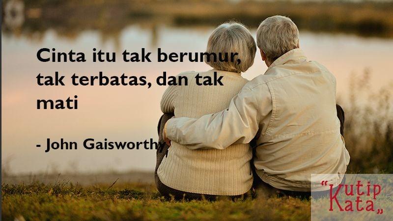 Kata Kata Cinta Sejati - John Gaisworthy
