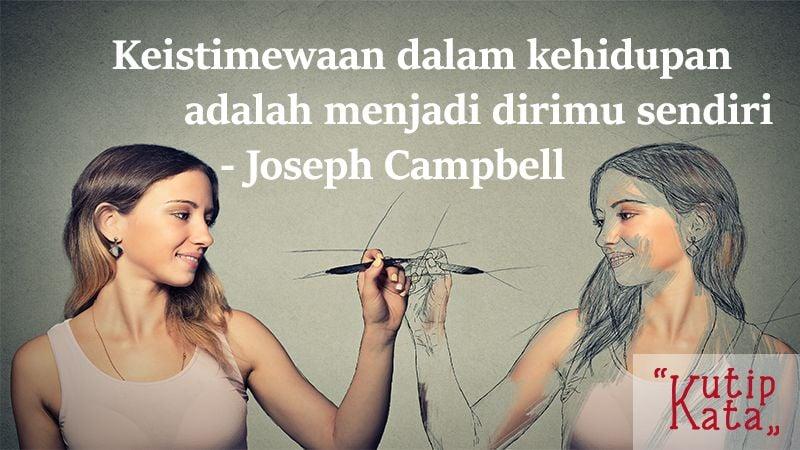 Kata Kata Motivasi Hidup - Kutipan Joseph Campbell