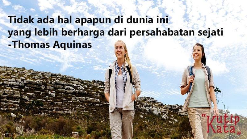 Kutipan Kata-Kata Bijak Persahabatan-Kutipan Thomas Aquinas