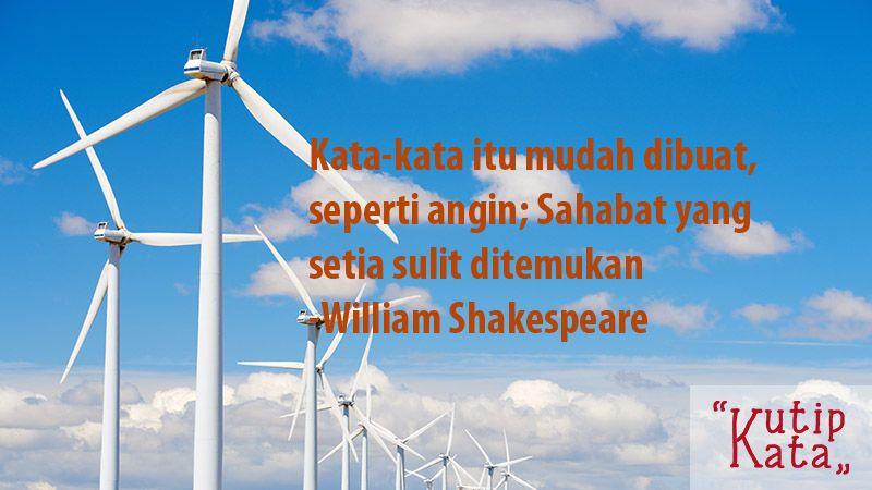 Kata Kata Bijak Persahabatan - Kutipan William Shakespeare