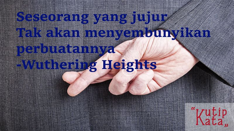 Kata KataIndah Novel - Kutipan Wuthering Heights