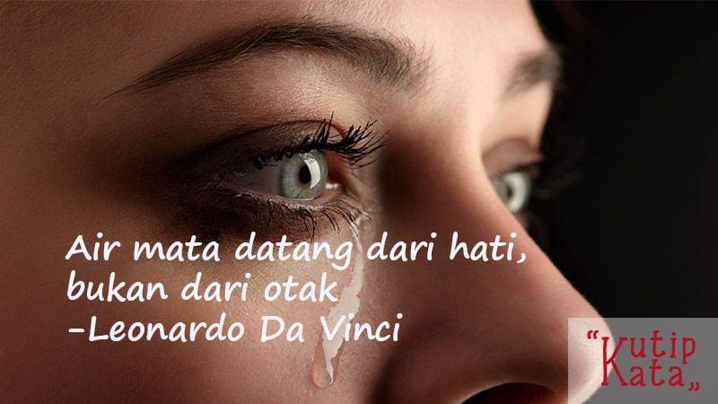 Kata-Kata Cinta Sedih-Kutipan Leonardo Da Vinci