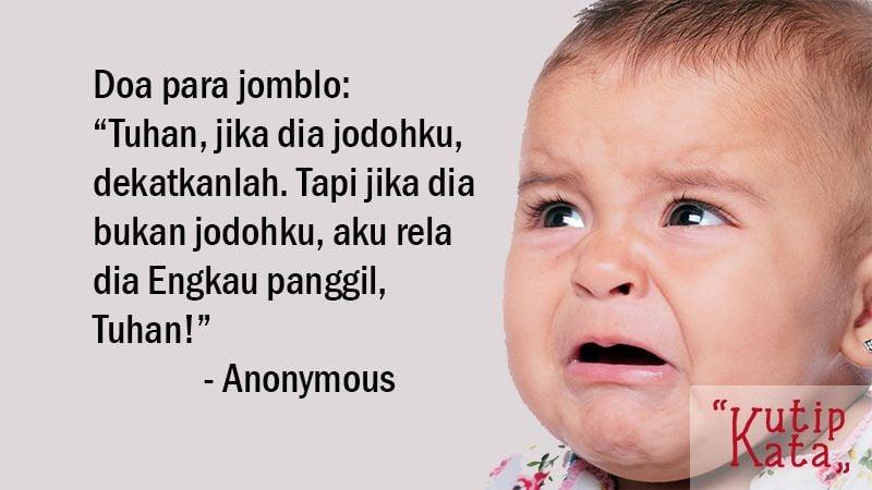 Kata Kata Lucu Banget - Anonymous