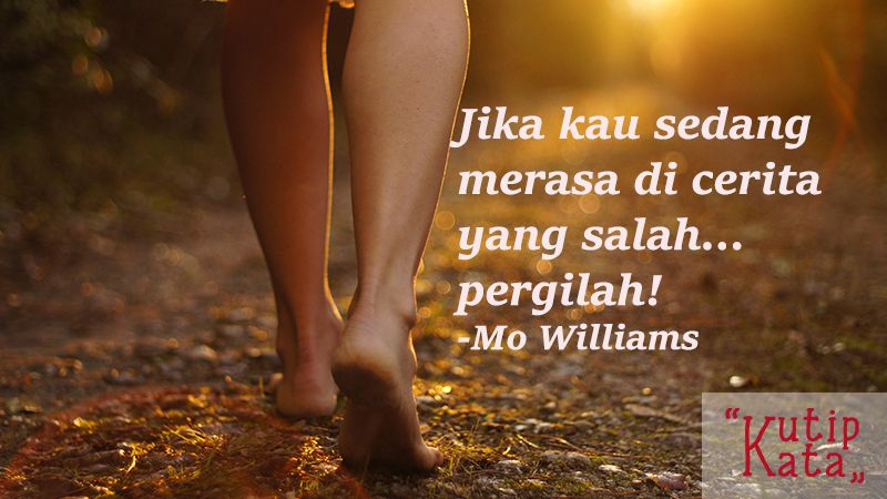 Kata kata kecewa untuk seseorang - Kutipan Williams