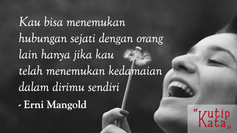 Kata Kata Bijak Singkat - Erny Mangold