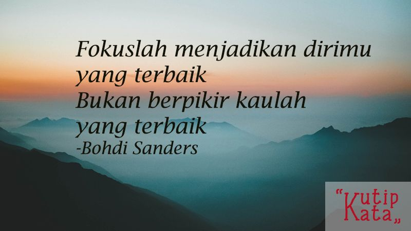Kata kata yang menyentuh hati - Kutipan Bohdi