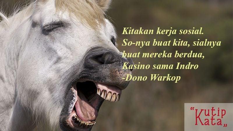 Kata Kata Konyol Lucu - Dono Warkop