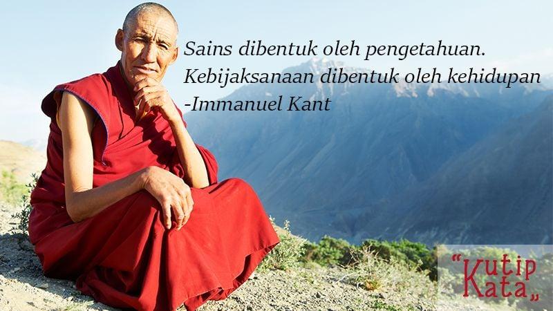Kata Kata Inspirasi Hidup - Immanuel Kant