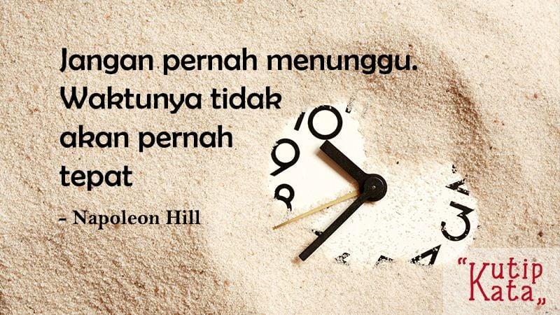 Motto Hidup Singkat Tapi Bermakna - Napoleon Hill