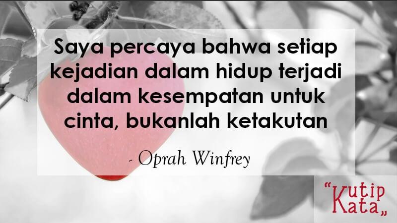 Kata Kata Mutiara Kehidupan - Oprah Winfrey