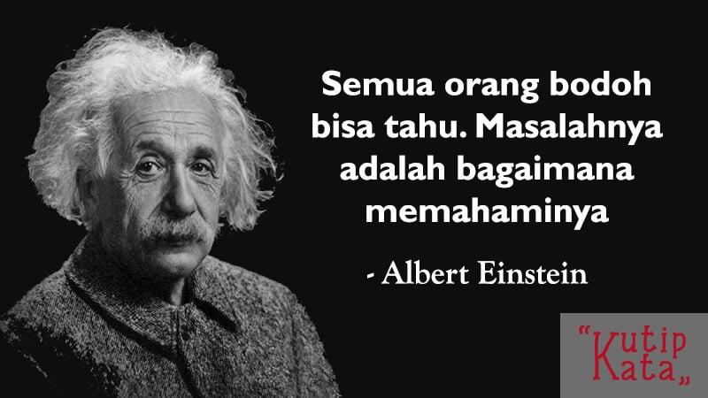 Kata Kata Bijak SIngkat - Albert Einstein