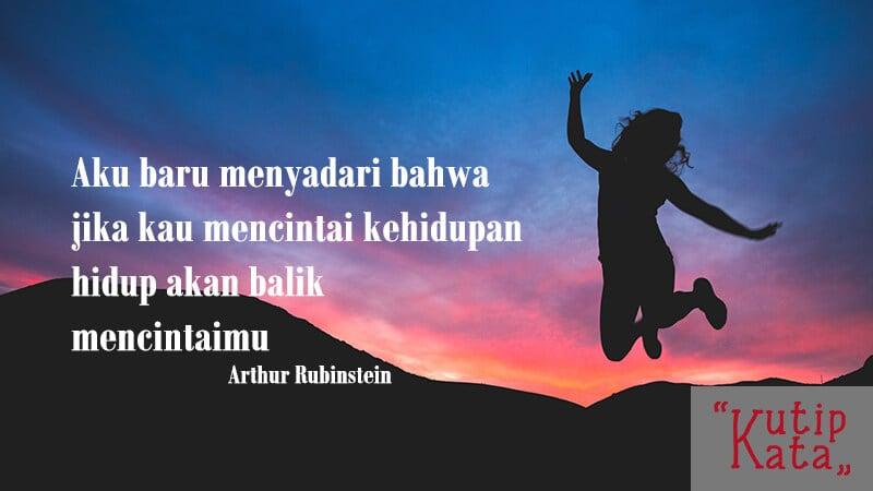Kata kata inspirasi hidup - Kutipan Rubinstein