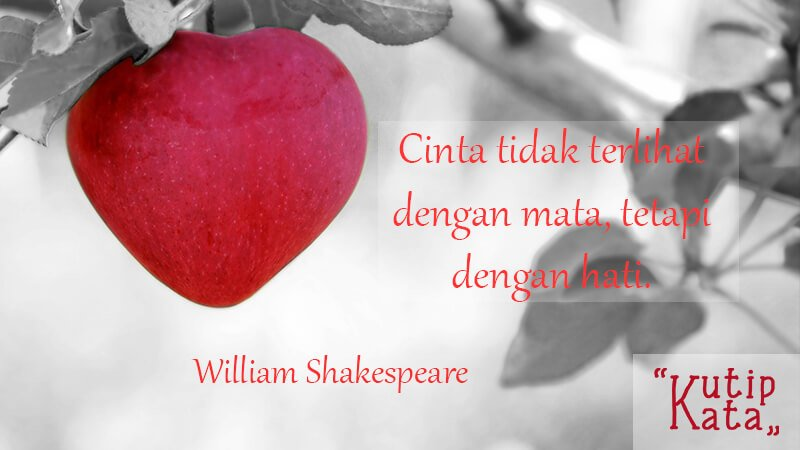 Kata Kata Bijak Cinta William Shakespeare