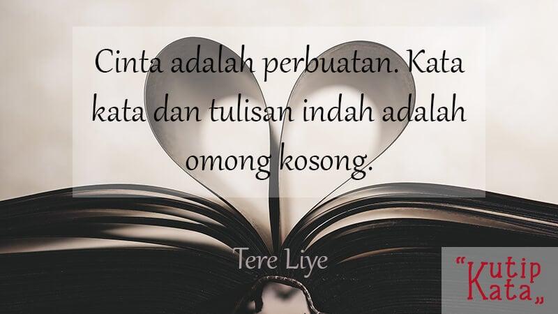 Kata Kata Cinta Bijak - Tere Liye
