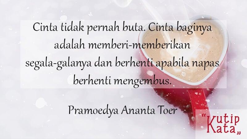 Kata Kata Cinta Bijak - Pramoedya Ananta Toer