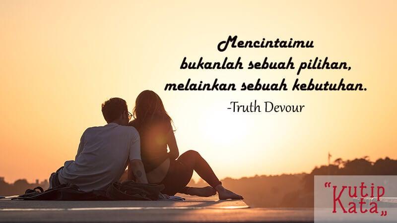 Kata kata sayang buat pacar - Kutipan Truth Devour