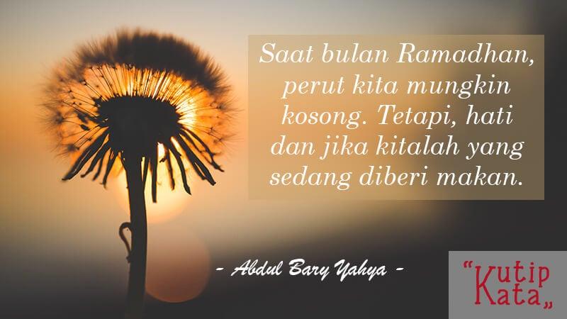 Ucapan Idul Fitri - Abdul Barry Yahya