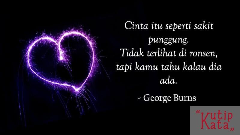 Kata Kata Keren Banget - George Burns