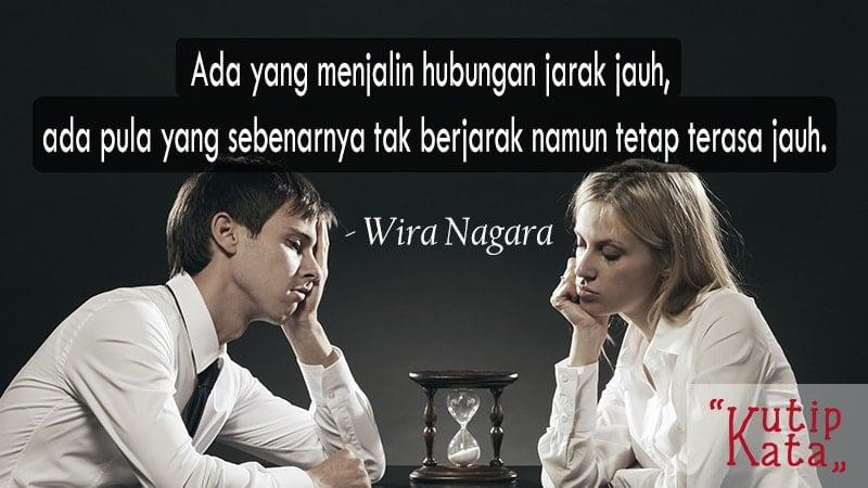 Kata kata sindiran cinta - Wira Nagara