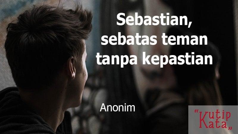 Kata kata sindiran cinta - Anonim