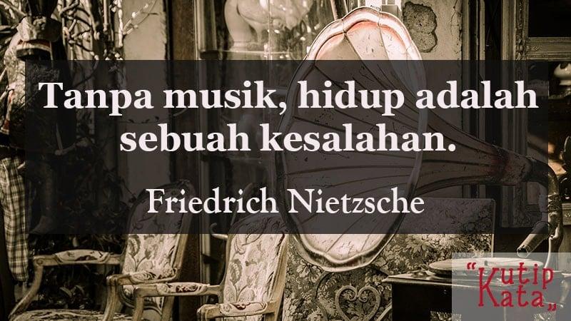 kata kata simple tapi keren - Friedrich Nietzsche