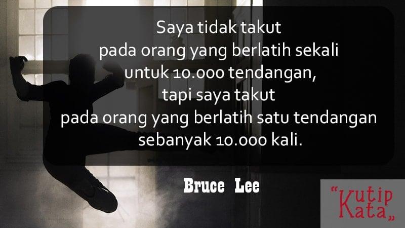 Motto hidup lucu tapi bermakna - Bruce Lee