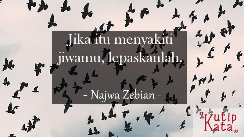 Kata Kata buat Pacar - Najwa Zebian
