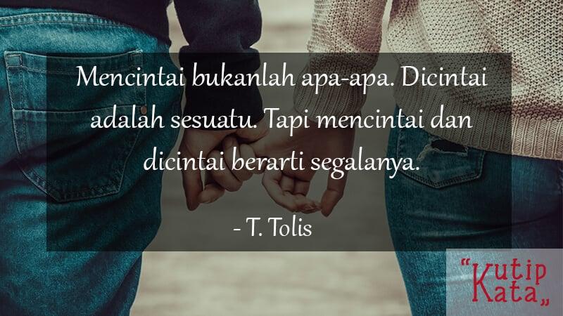 Kata Kata Motivasi Cinta - T. Tolis