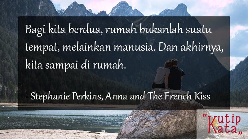 Kata Kata Motivasi Cinta - Stephanie Perkins